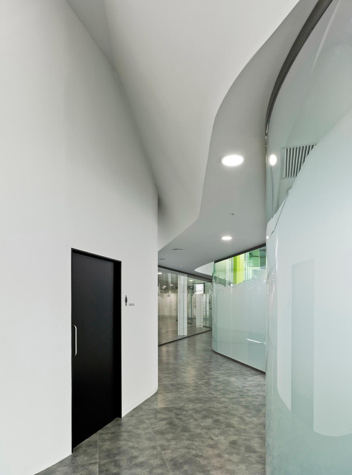 Interior de vivero de empresas